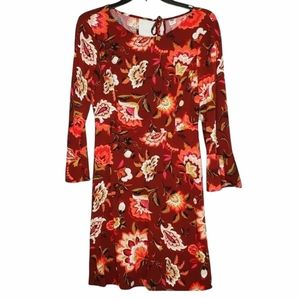 Old Navy Floral Dress With Bell Sleeves Size 2